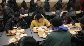 В Нью-Йорке число бездомных достигло рекордного показателя