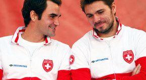 Федерер и Вавринка ведут Швейцарию к Кубку Дэвиса