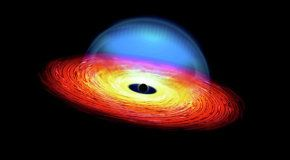 Голодающие черные дыры заставляют квазары «мигать»