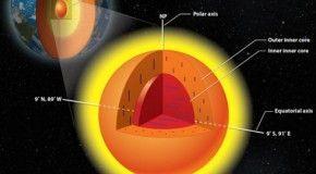 У нашей планеты 3 ядра