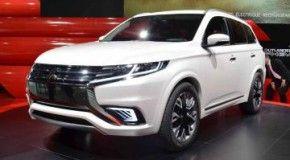 Представлен обновленный Mitsubishi Outlander