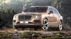 Появились фото самого крутого в мире внедорожника Bentley Bentayga