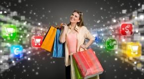 Совершение покупок в Интернете стало популярным