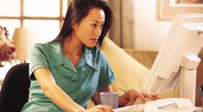 Почему все больше женщин работают на дому